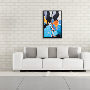 Sunset Anticipation Wall Art Canvas 65 cm X 95 cm