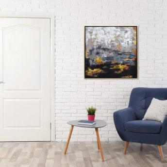The Escapade Wall Art Canvas 105 cm X 105 cm