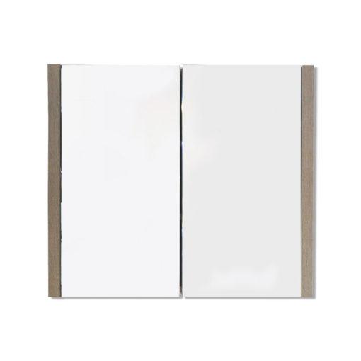 Alexandra Mirror Cabinet in White Oak Frame – (76cm x 60cm)