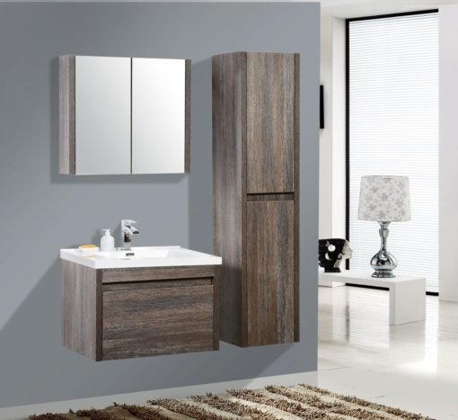 Alexandra Mirror Cabinet in Silver Oak Frame – (76cm x 60cm)