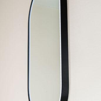 Gatsby Pill Shaped LED with Matt Black Frame - 45CM x 90CM