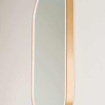 Gatsby Pill Shaped LED with Rose Gold Frame - 45CM x 90CM