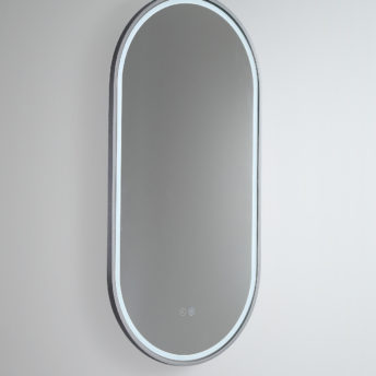 Gatsby Pill Shaped LED with Gun Metal Frame