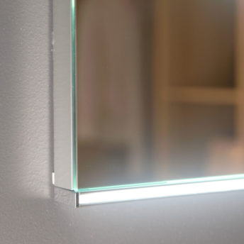 Lucy LED Mirror with Demister in Frameless - (90cm x 70cm), (120cm x 75cm) or (150cm x 85cm)