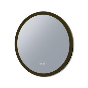 Eclipse Frontlit LED Mirror With Black Frame - 60cm / 80cm