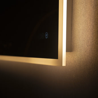 Kara LED Mirror with demister and colour switch