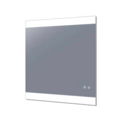 Miro LED Mirror with Demister in Frameless - (75cm x 90cm), (90cm x 70cm), (120cm x 70cm), (150cm x 75cm), or (180cm x 85cm)