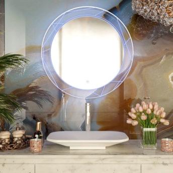 LED Mirror Soho – 80cm Dia