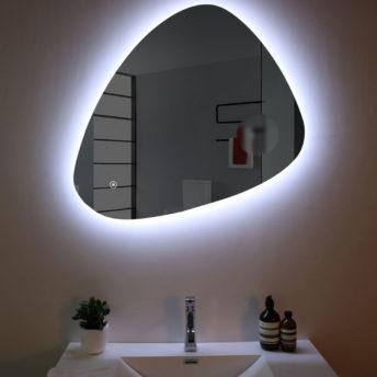 LED Mirror Triangolo – (79.7cm x 81.2cm)