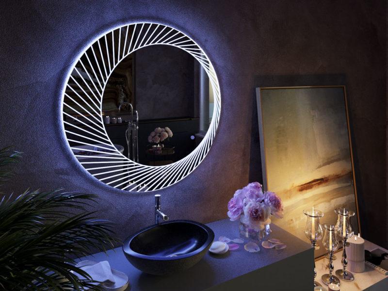 Bucciano LED Mirror – 80cm Dia