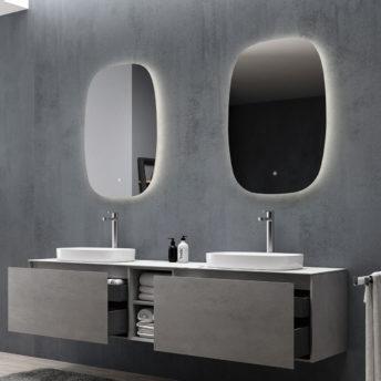Q-Line LED Mirror – 58cm x 90cm