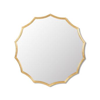 Minyama Scalloped Wall Mirror 101.6cm x 101.6cm