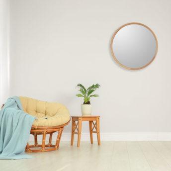 Marcoola Round Wall Mirror 100cm x 100cm