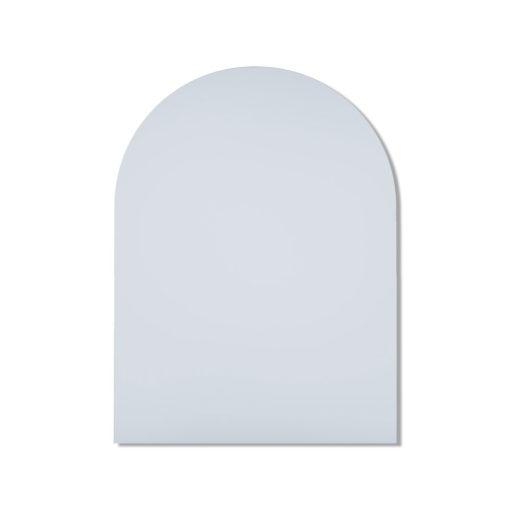 Church Shape Polished Edge Mirror - Glue-To-Wall or Metal Hangers