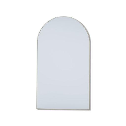 Mega Arch White Leaner Mirror - 210cm x 120cm