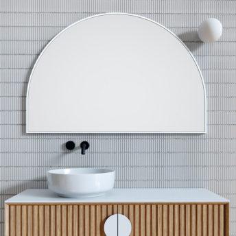 Arch Mirror White - 80cm x 120cm