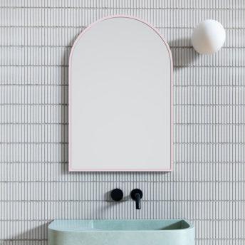 Arch Mirror Pink - 76cm x 50cm