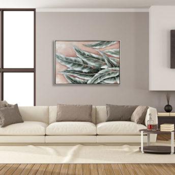 Leaves of Eucalyptus Wall Art Canvas 60 cm X 90 cm