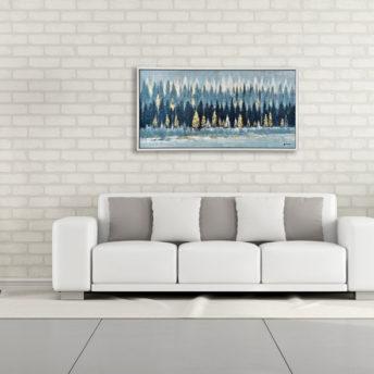 Jungle Desert Wall Art Canvas 120 cm X 80 cm