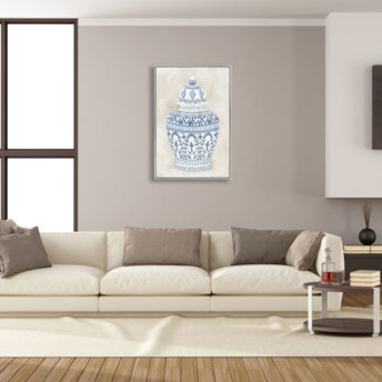 Jenny Ginger Jar Wall Art Canvas 60 cm X 90 cm