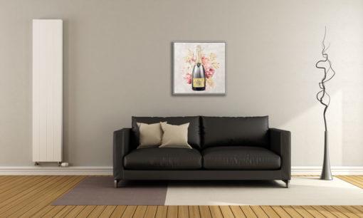 Champion Champagne B Wall Art Canvas 80 cm X 80 cm