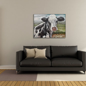 Cow of Dairy Wall Art Canvas 128 cm X 98 cm
