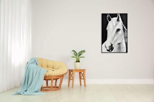 Clarke Horse Wall Art Canvas 80 cm X 120 cm