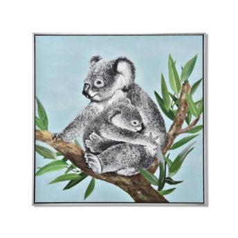 Mother Koala Wall Art Canvas 80 cm X 80 cm