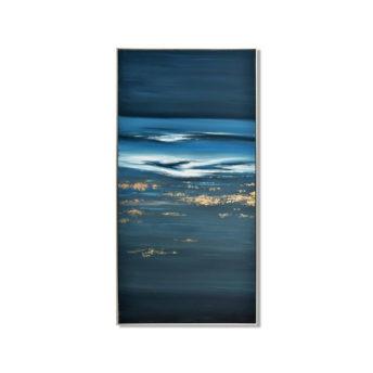 Abstract Vause Wall Art Canvas 70 cm X 140 cm