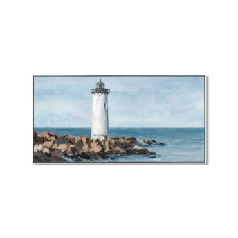 Watcher of the Lighthouse Wall Art Canvas 120 cm X 60 cm