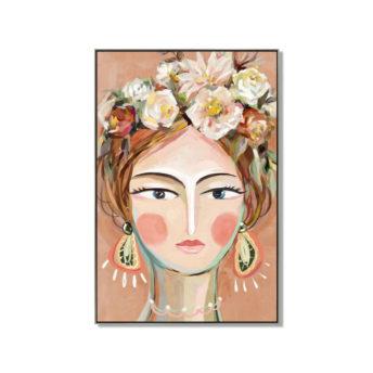 Andria Wall Art Canvas 80 cm X 120 cm