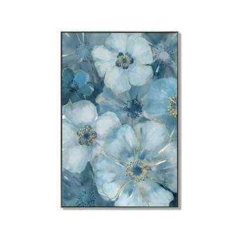 Feign Floral Wall Art Canvas 80 cm X 120 cm