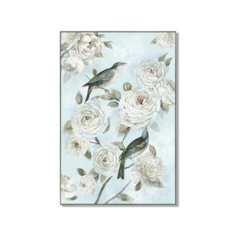 Birds of Love Wall Art Canvas 80 cm X 120 cm