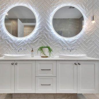 Remer Sphere LED Round Mirror