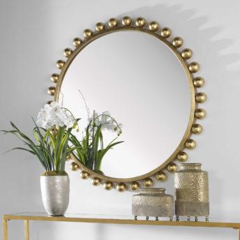 Cyra Gold Mirror