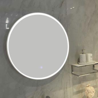 Marmo Round LED Mirror